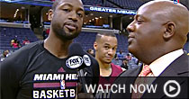 Dwyane Wade and Shabazz Napier (screen shot)