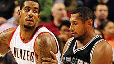 Follow LIVE: Blazers-Spurs