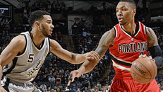Follow LIVE: Blazers-Spurs