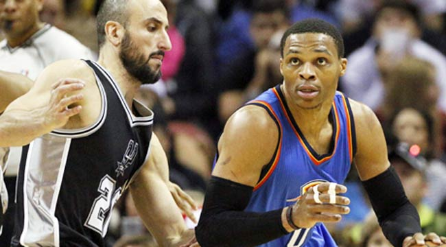 Five-Star: Westbrook does it all for Thunder