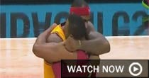 LeBron James/Dwyane Wade (grab)