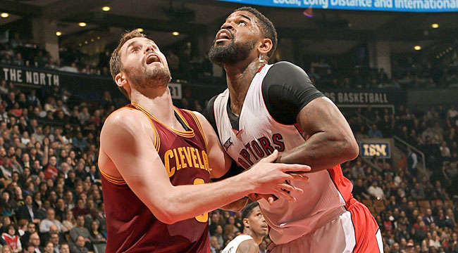 Cavs hold off Raptors, take over East's 2 seed