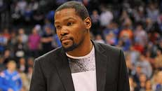 Durant out 4-6 months