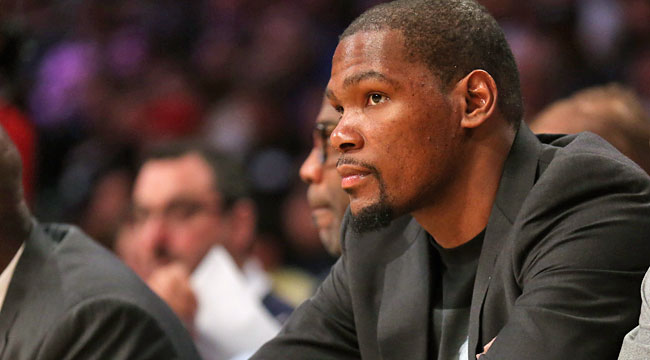 Berger: Durant's future in OKC is no slam dunk