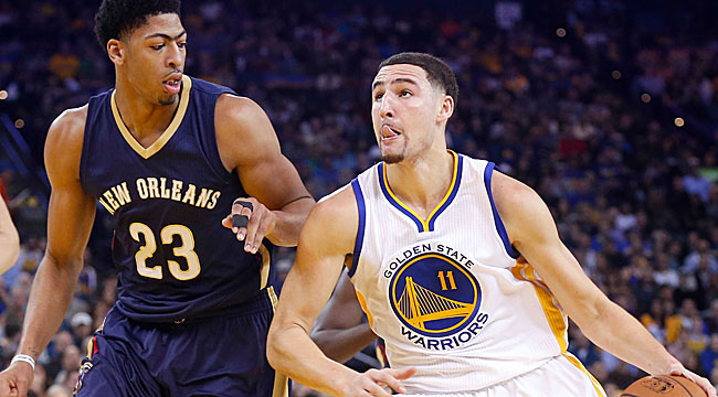 3:30 ET: Favored Warriors take on Pelicans