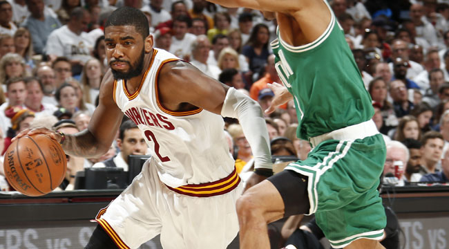Harper: Irving shines in postseason debut