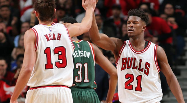 Bucks can't stop Bulls' Butler, go down 0-2
