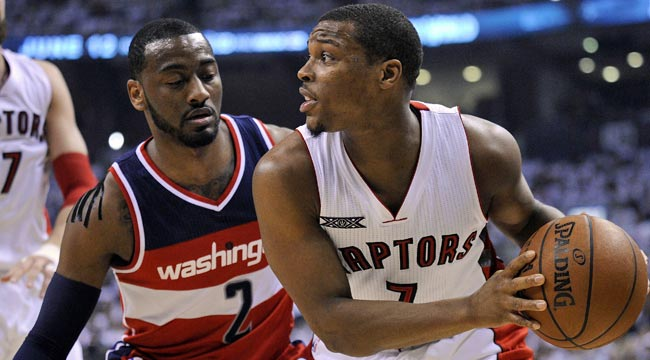 LIVE: Wizards handling Raps, nearing 2-0 lead