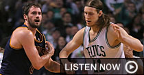Kevin Love, Kelly Olynyk (Getty Images)