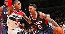 Atlanta Hawks, Washington Wizards (Getty Images)