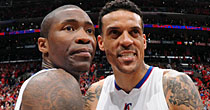 Jamal Crawford, Matt Barnes (Getty Images)