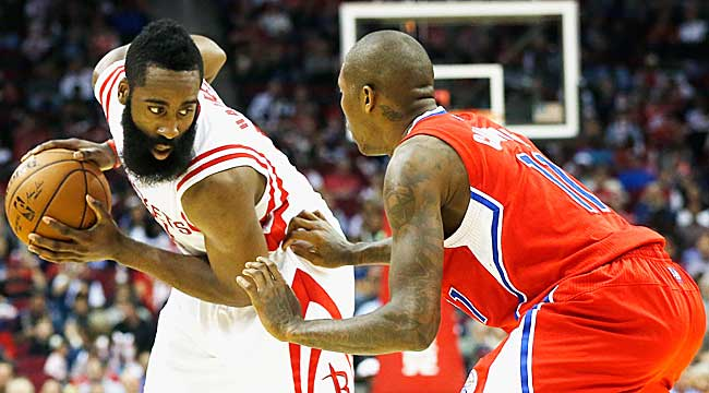 9:30 ET: Harden, Rockets host LAC in Game 1