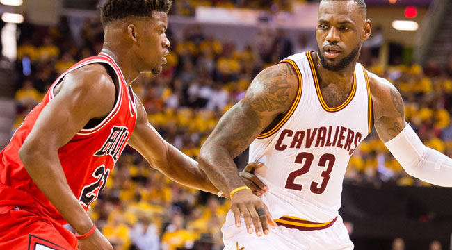 Bulls push past LeBron's Cavs for Game 1 victory
