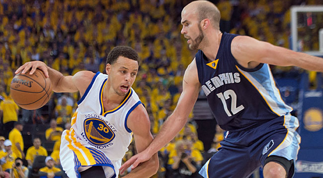 Grizzlies must survive Warriors' 3-point prowess