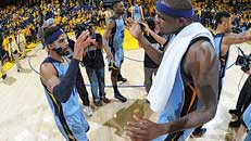 NBA Playoffs: Grizzlies tie GS