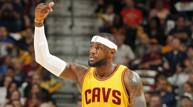 LeBron rebounds; Cavs start fast, tie series