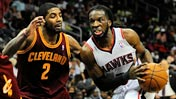 Kyrie Irving; DeMarre Carroll 2014 Apr 04 ... 650 (USATSI)