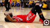 James Harden loses Game Two 650 (Getty Images)
