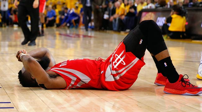 Harden commits turnover on final play of Game 2