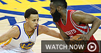 Steph Curry and James Harden (USATSI)