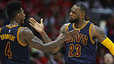 NBA Playoffs: Cavs up 2-0