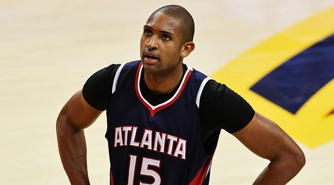 Hawks' Horford tossed for flagrant-2 on Dellavedova