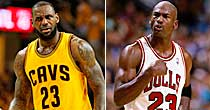 LeBron James, Michael Jordan (Getty Images)