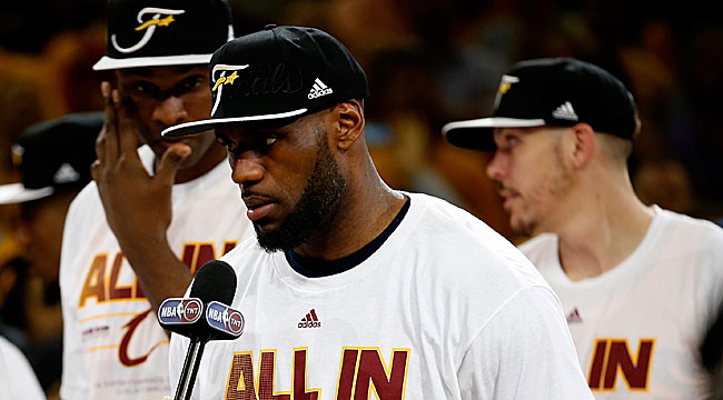 Moore: LeBron says mission not complete