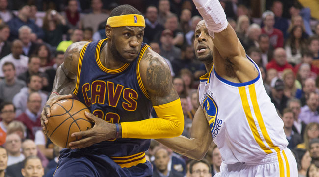 Early look at matchups between Cavs, Warriors