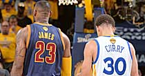 LeBron James, Stephen Curry (Getty Images)