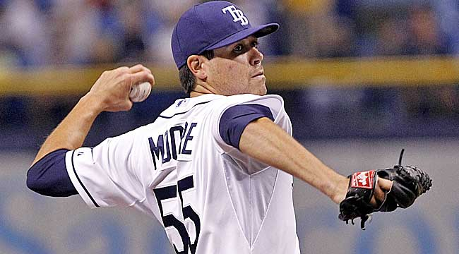 Live blog: Moore essential to Rays' success
