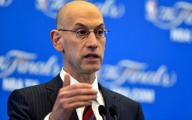 Commissioner Adam Silver may have a bit of a dilemma on his hands. (USATSI)