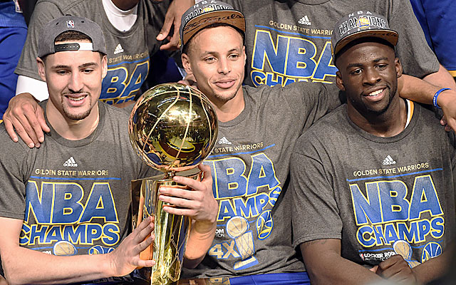 The Warriors proved a team can win a championship with a core of drafted players. (USATSI)
