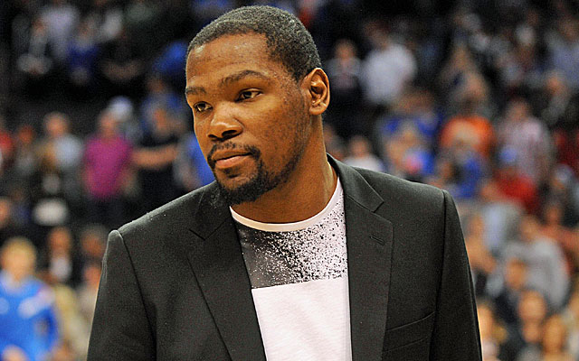 Pain-free, motivated Durant back on the floor as free agency looms