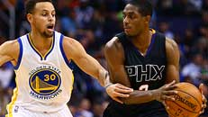 Live: Warriors-Suns