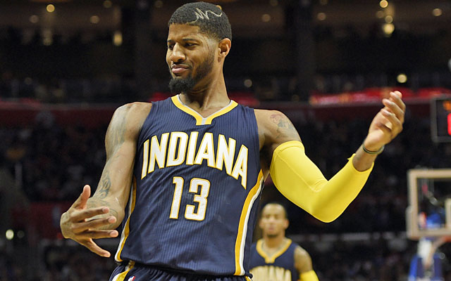 Paul George has been absolutely rocking out for the new-look Pacers. (USATSI)