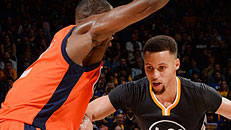 Warriors fight off Thunder