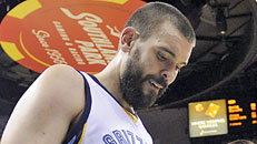 Moore: Marc Gasol out