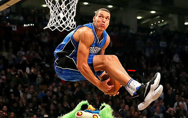 29c101635 Dunk contest runner-up Aaron Gordon pulled out all the stops. (Getty Images