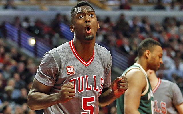 Bulls rookie Bobby Portis will let you know how he feels. (USATSI)