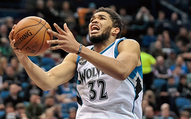 Karl-Anthony Towns winning Rookie of the Year is a no-brainer. (USATSI)