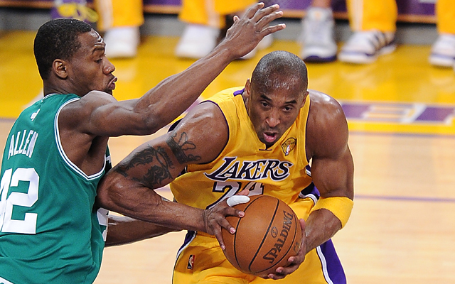 41d192f3515 Tony Allen and Kobe Bryant had an epic duel during the 2010 NBA Finals. (