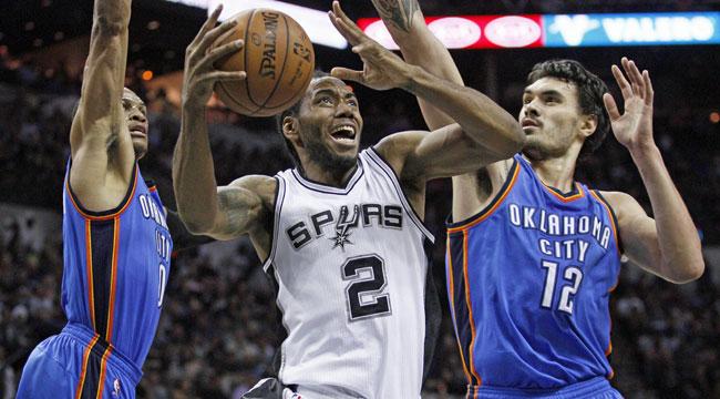 LIVE: Thunder-Spurs, Game 1