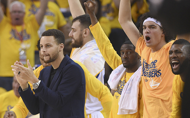 Warriors dominate Blazers in Game 1 without Steph Curry: 3 things to know