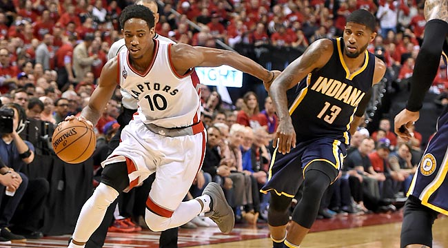 Raptors outlast Pacers in 7