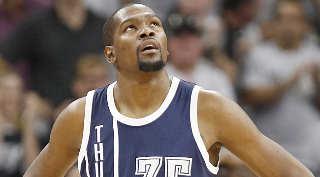 Thunder face fear of losing KD