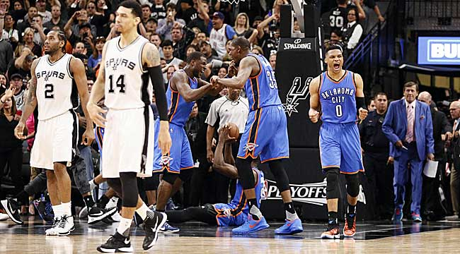 Thunder get big road win