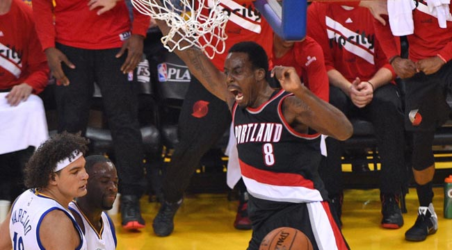 LIVE: Blazers-Warriors, Game 2