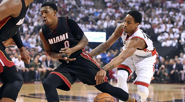 LIVE: Heat-Raptors, Game 2