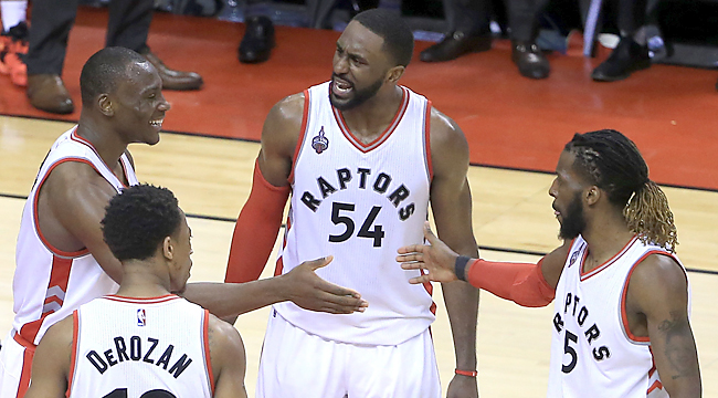 Raptors tie Eastern finals